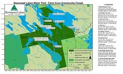 Downeast Lakes Water Trail Brochure
