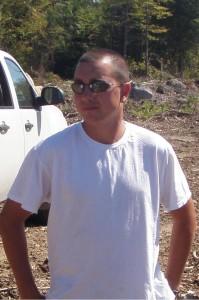 Joe Davis, foreman, Davis Forestry Products