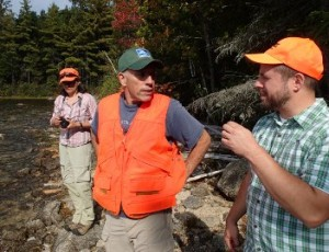 Discussing the Farm Cove Community Forest