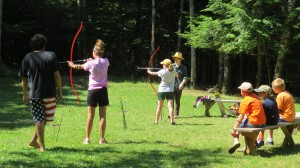 Young archers at Greenland Point