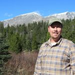 DLLT Executive Director David Montague in Rocky Mountain National Park