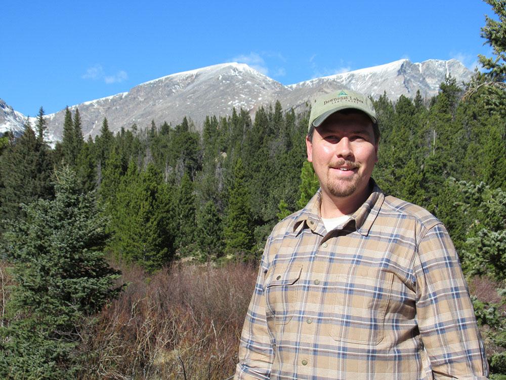 DLLT Executive Director David Montague in Rocky Mountain National Park
