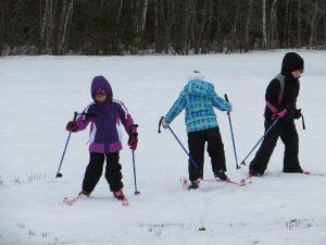 Princeton Elementary School students winter sports day