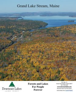 Grand Lake Stream, Maine photo poster