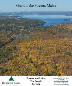 Grand Lake Stream Maine Map.Donate Downeast Lakes Land Trust