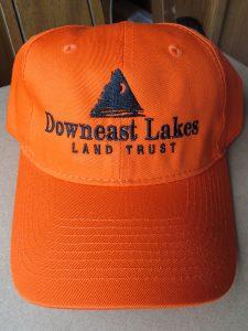 DLLT hat, blaze orange